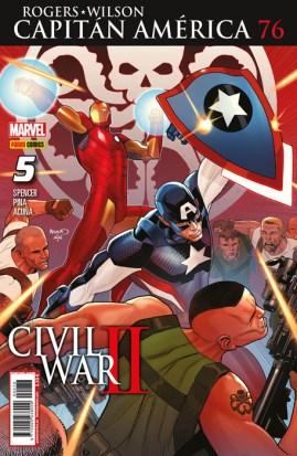 Rogers - Wilson: Capitán América 76 (5) (Panini)