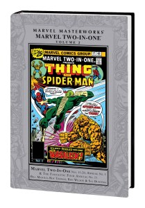 MARVEL MASTERWORKS: MARVEL TWO-IN-ONE VOL. 2 HC