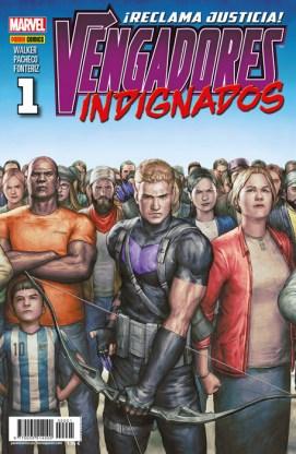 Vengadores Indignados 1 (Panini)