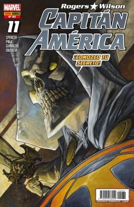 Rogers - Wilson: Capitán América 82 (11) (Panini)