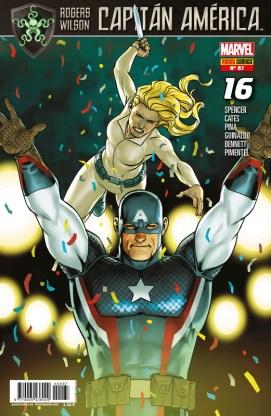 Rogers - Wilson: Capitán América 87 (16). Imperio Secreto