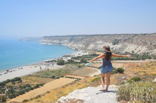View form the Kourion ruins - Limassol - Cyprus