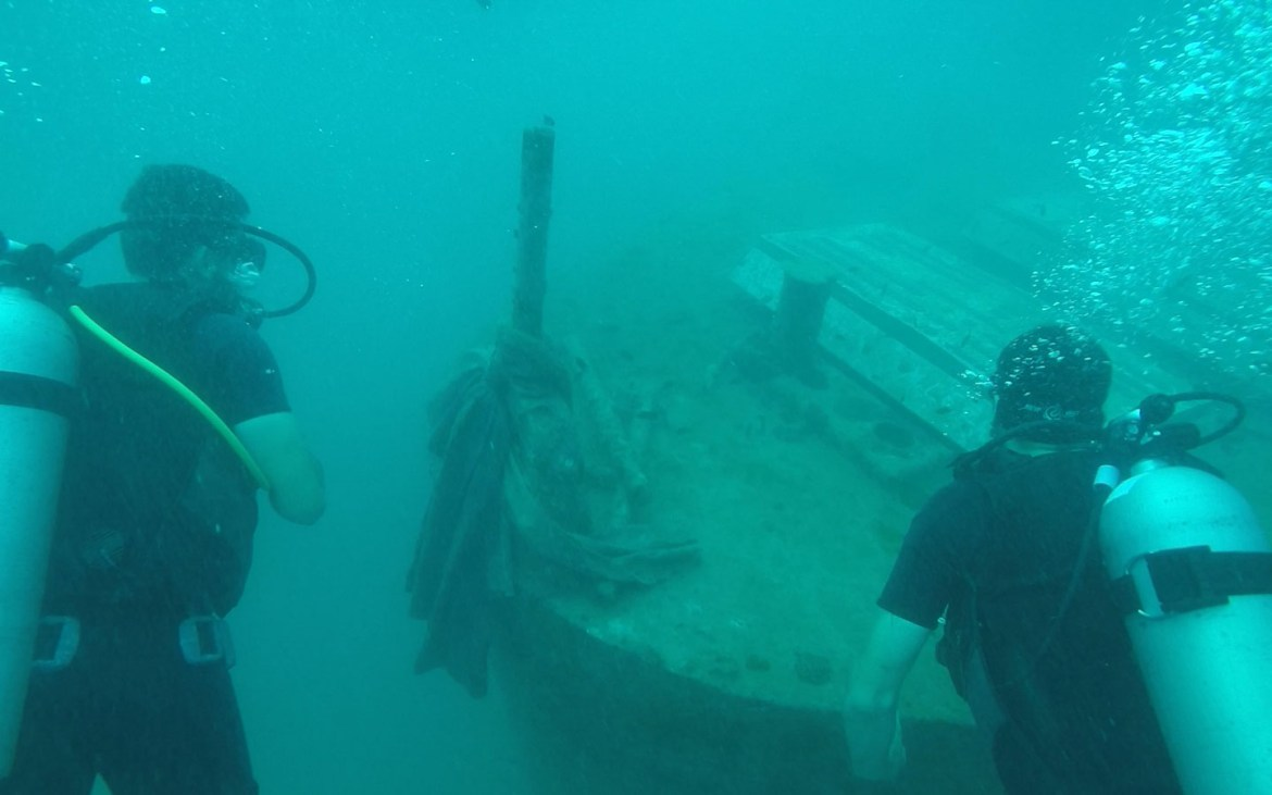 Sattakut Shipwreck, Koh Tao - Awesome things to do in Thailand