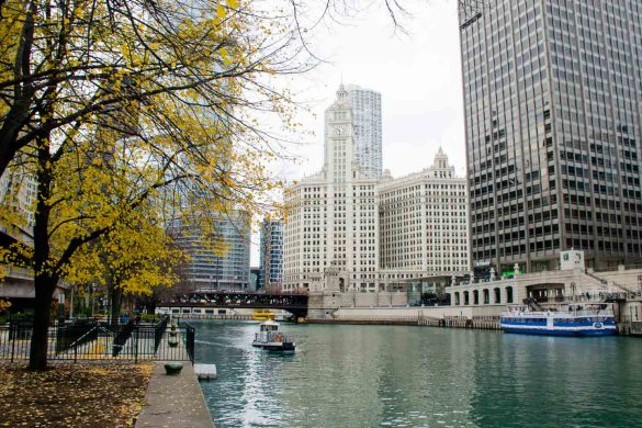lugares para visitar en Chicago, river walk