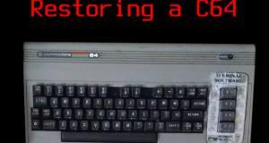 restoring a c64