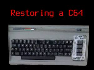 restoring a commodore 64