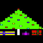 Vic 20 Christmas Tree