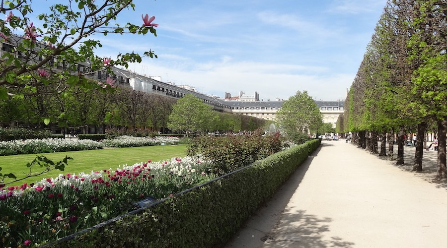 Jardin Palais Royal Run My City