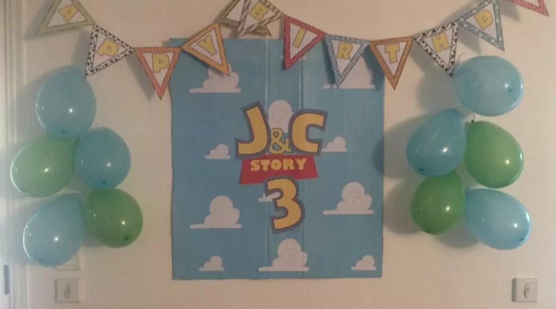 toy story party un anniversaire vers