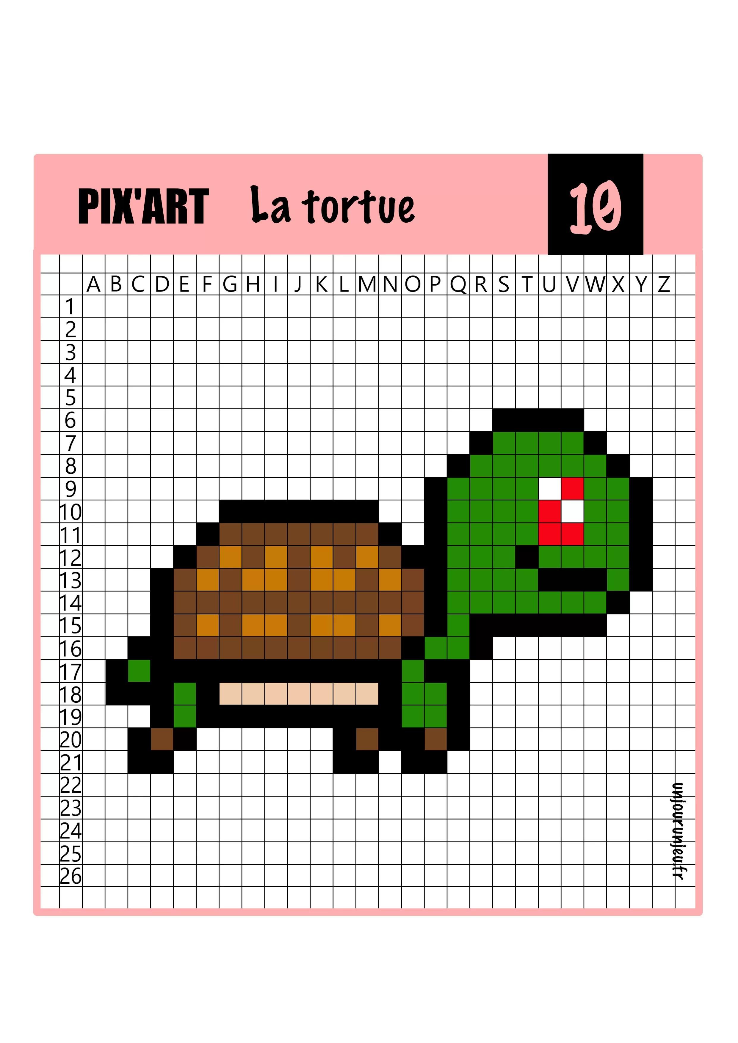 Pixel Art Animaux 12 Modeles A Telecharger Gratuitement Un Jour Un Jeu