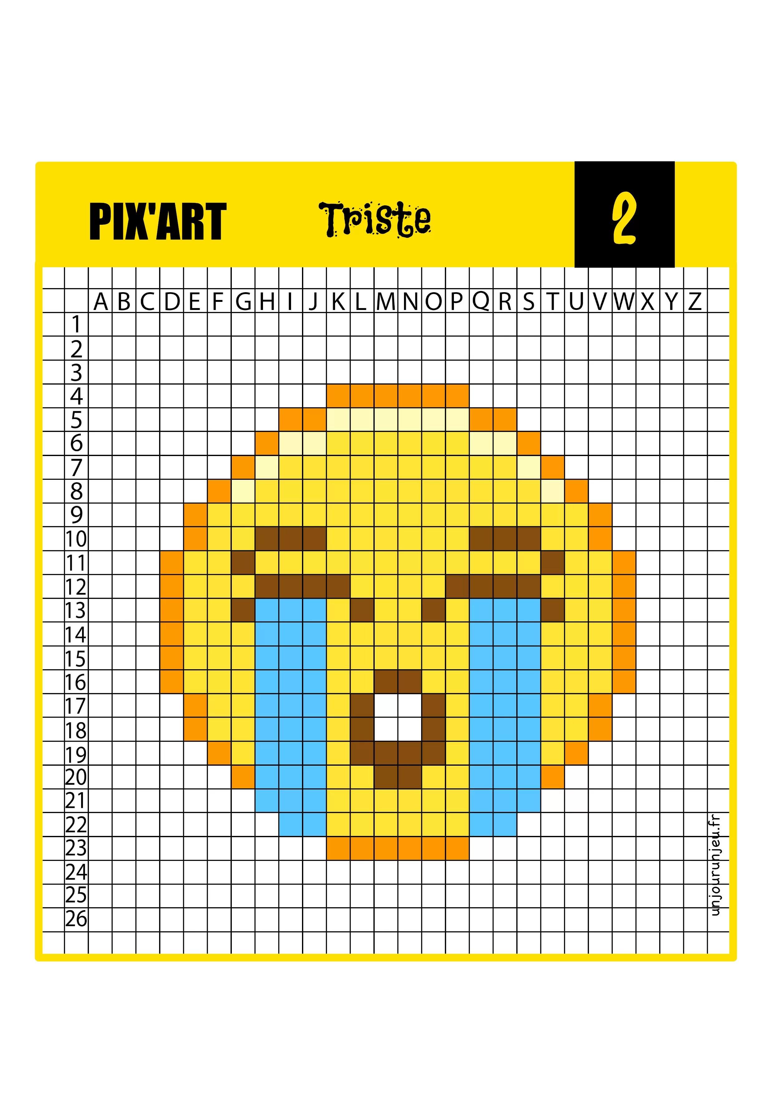 12 Modeles De Pixel Art Smiley A Telecharger Gratuitement Un Jour Un Jeu