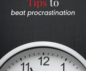 7 Powerful Tips to Beat Procrastination