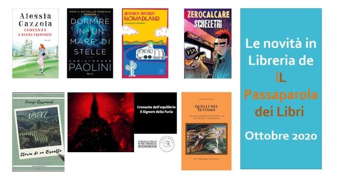 Le novità in libreria de iL Passaparola dei Libri