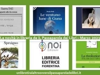 Marzo 2021 Novità in libreria