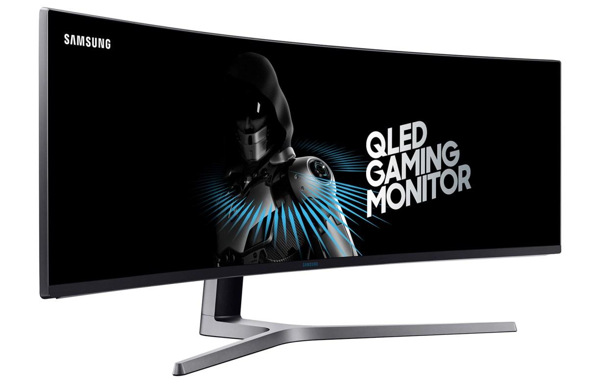 QLED super ultra-wide monitor