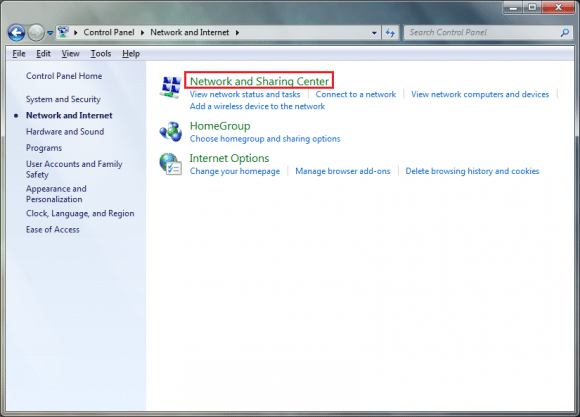 Huawei Modem Adapter Binding Settings in Windows XP, 7 & 8