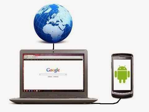 Cara Menjadikan Android Sebagai Modem USB Komputer