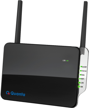 QDC 4G LTE Router Black