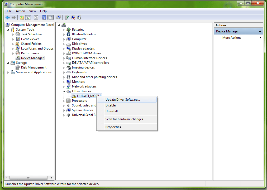Huawei Hilink Modem COM Port Drivers Installation_2