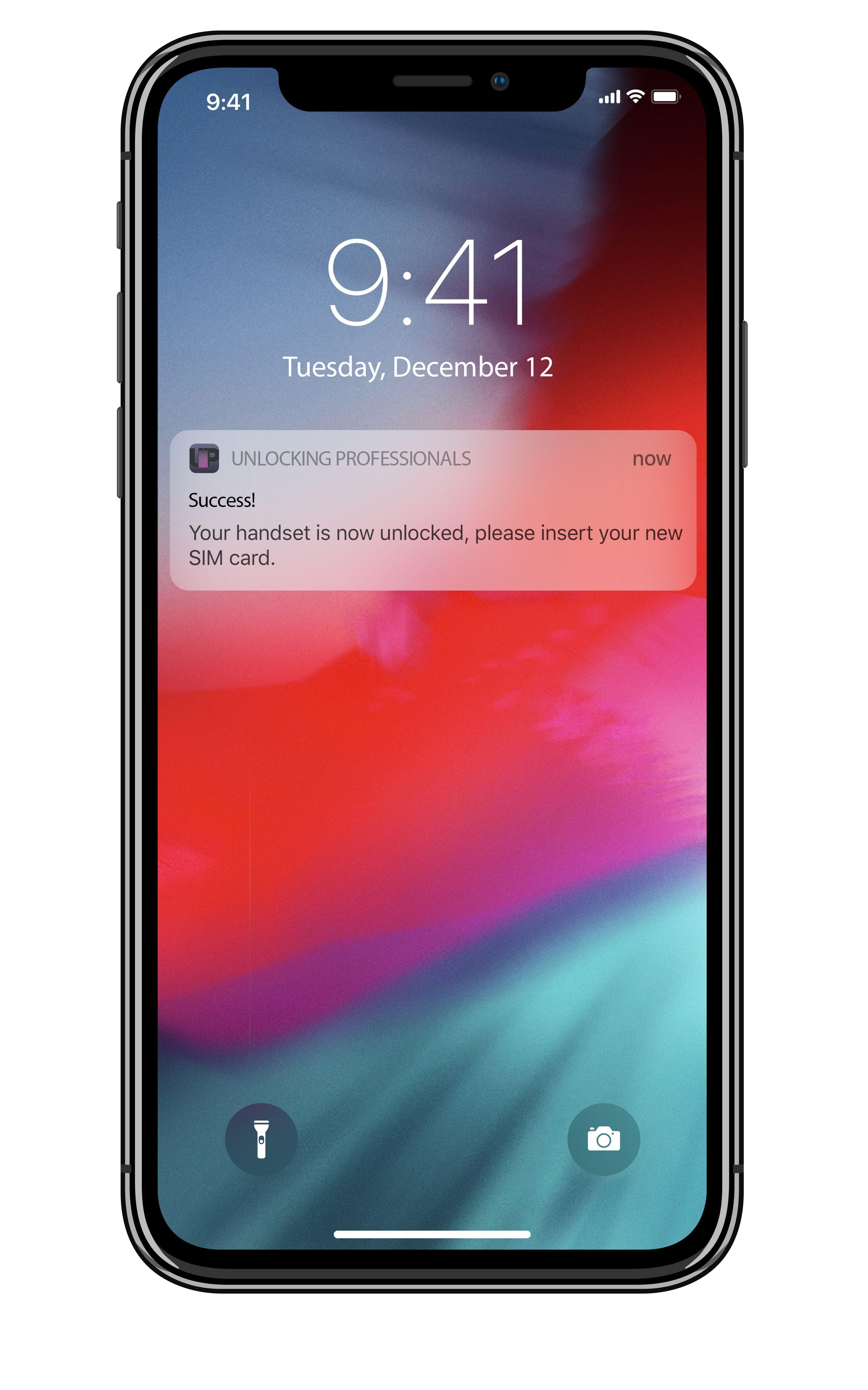 Official iPhone Unlock