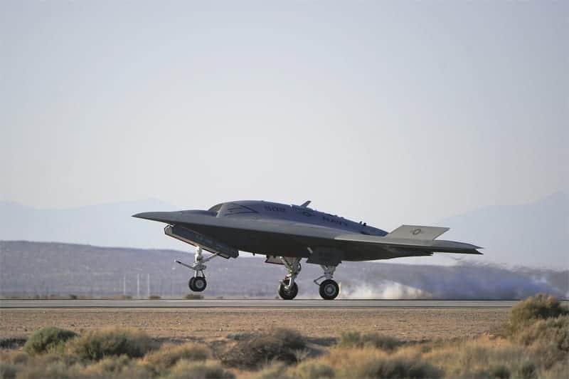 Northrop Grumman Complete X 47b Unmanned Combat Air System