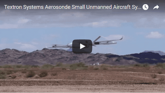 Textron Systems Aerosonde Small Unmanned Aircraft System