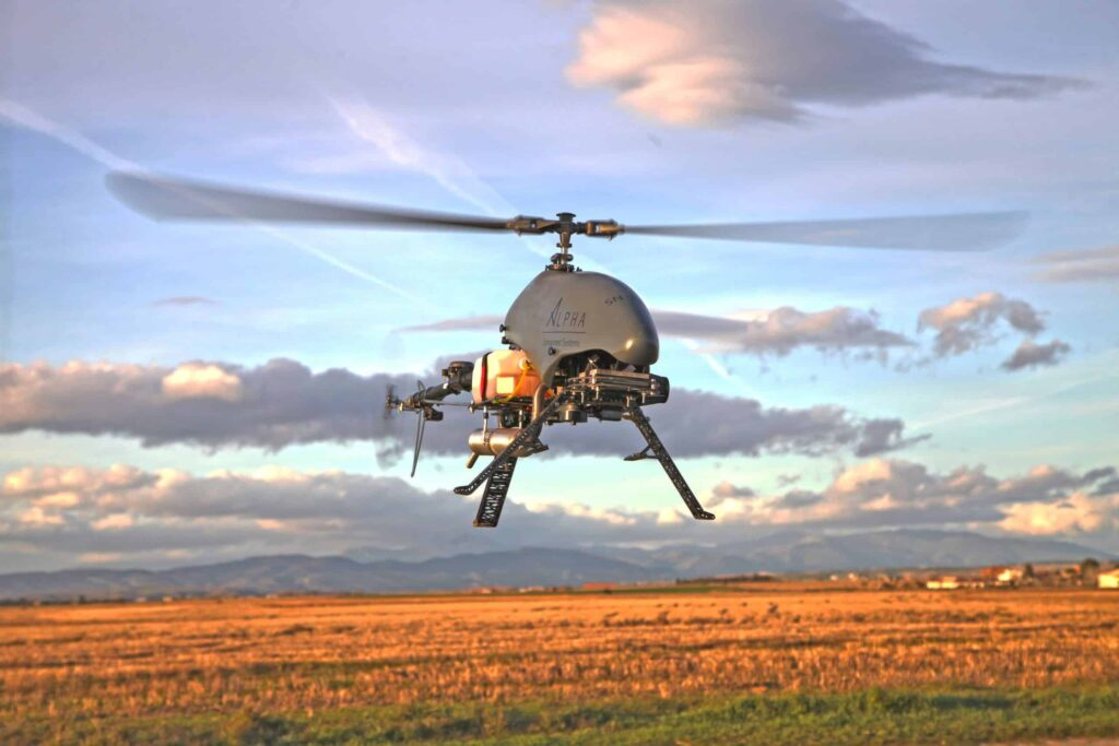 ALPHA 800 Unmanned Helicopter