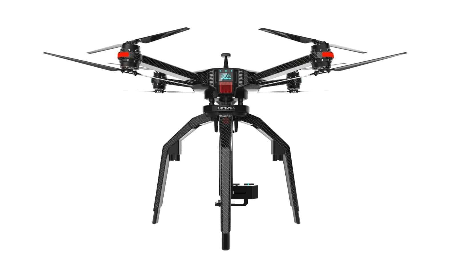 Xdynamics D 02 Drone