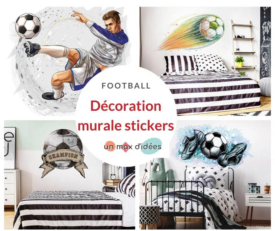deco murale foot decoration chambre