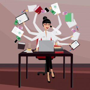 crescita personale e miti, ad esempio il multitasking