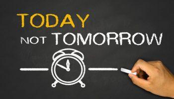 Ecco il miglior trucco per non procrastinare