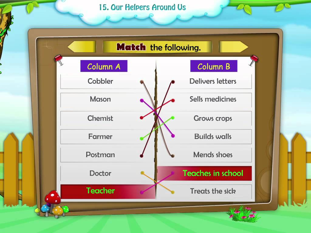 Community Helpers Worksheets For 2nd Grade