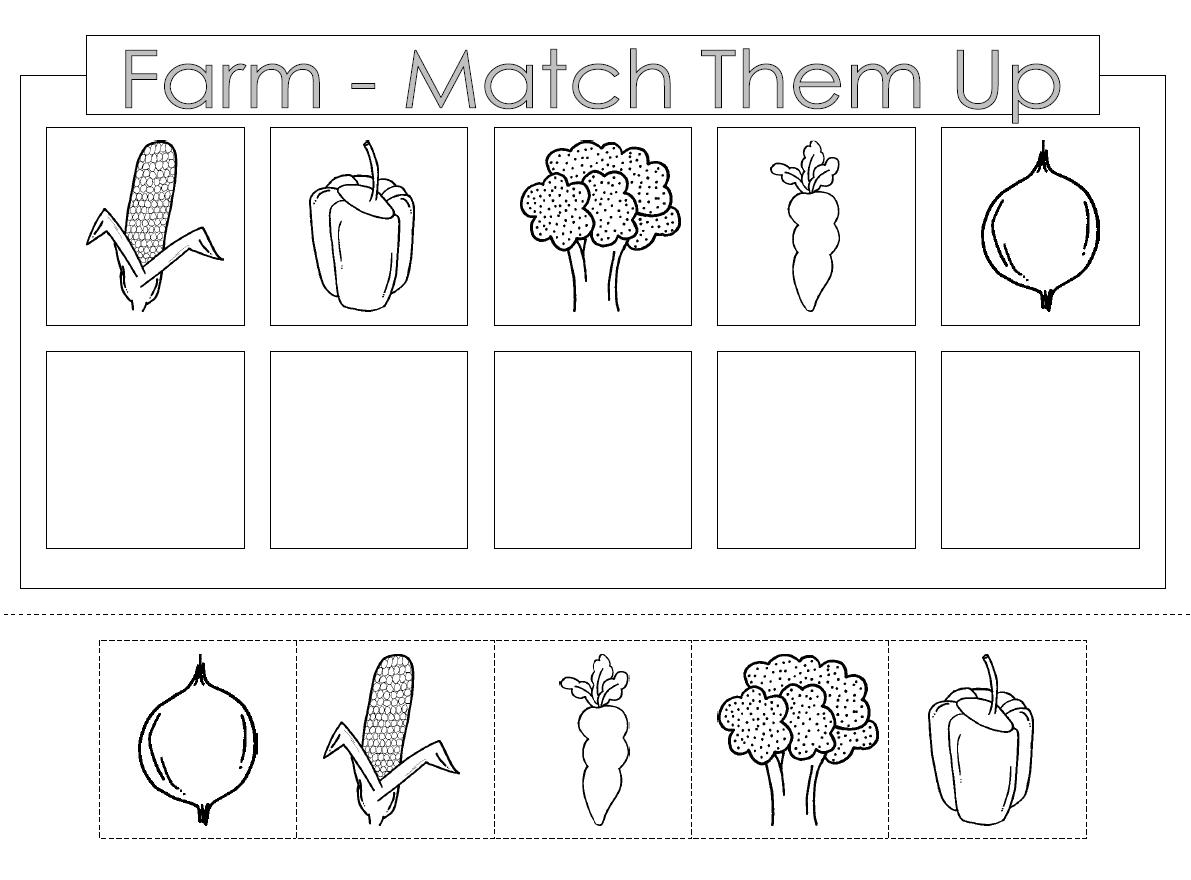 Preschool Cut And Paste Worksheets