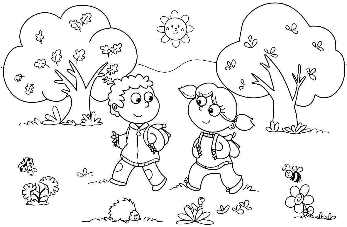 Boy And Girl Worksheets For Kindergarten