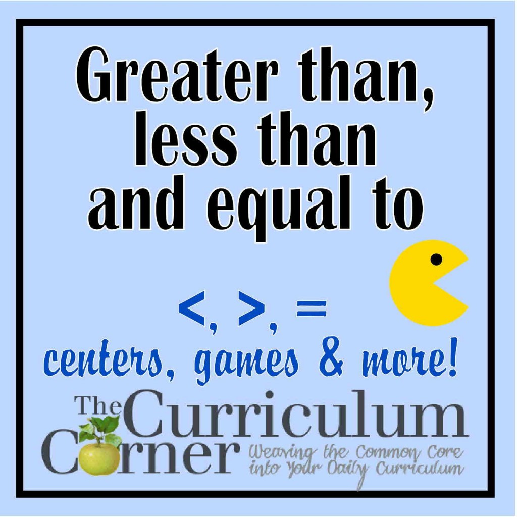 Kindergarten Greater Than Less Than Worksheets