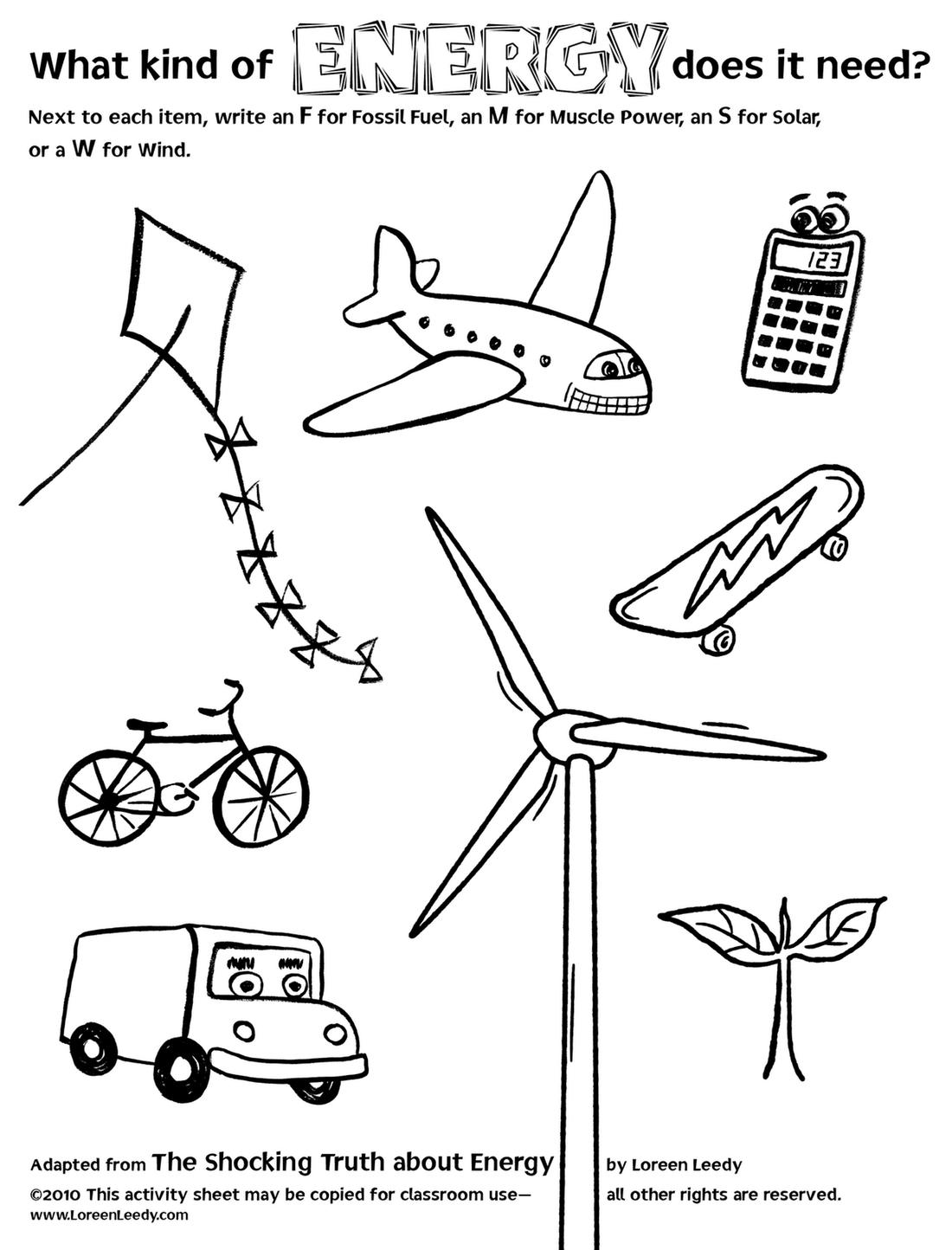 Electricity For Kids Worksheets