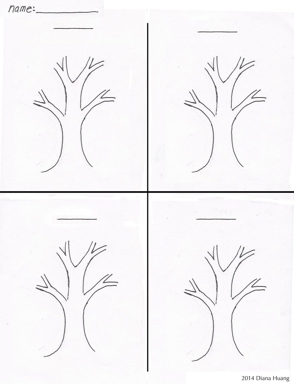 Four Seasons Worksheets For Kindergarten Math Kindertastic