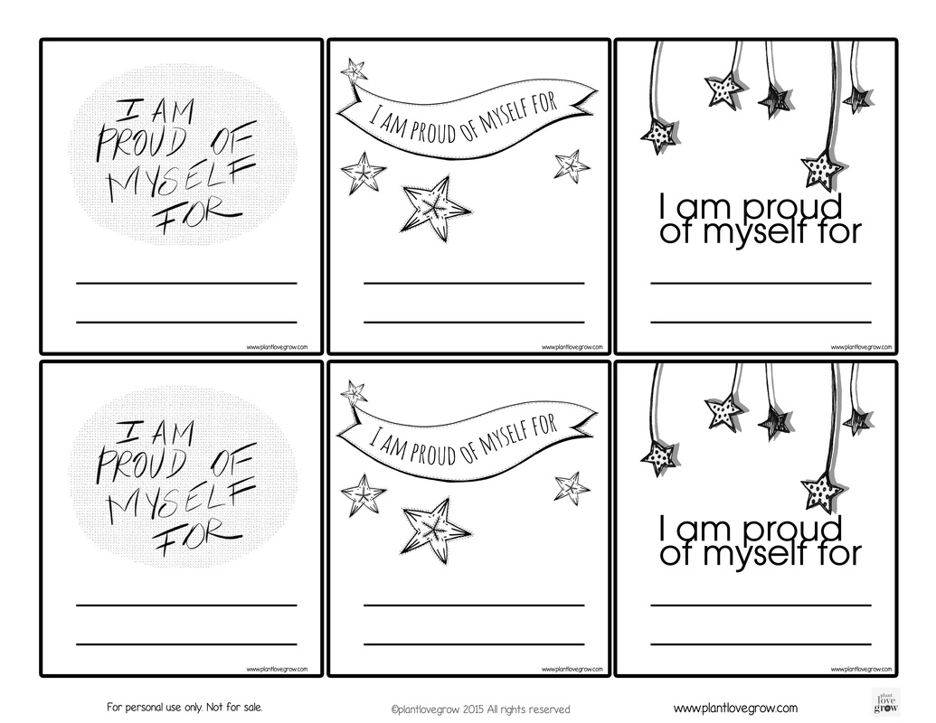 Self Esteem Worksheets For Teenagers