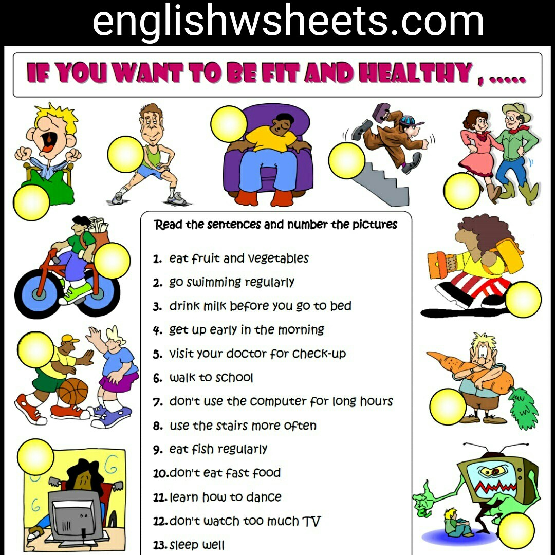 Imperative Mood Esl Printable Grammar Exercise Worksheet