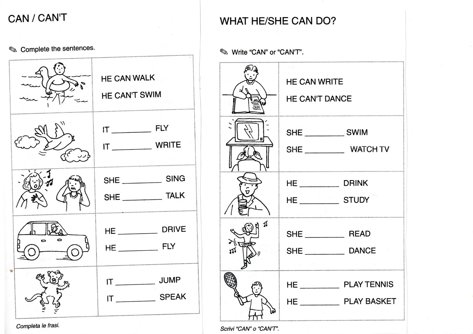 Free Printable Community Helpers Worksheets