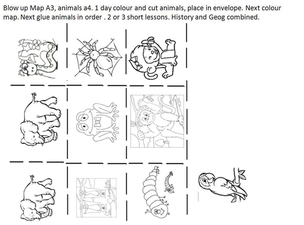 Monkey Puzzle Worksheets