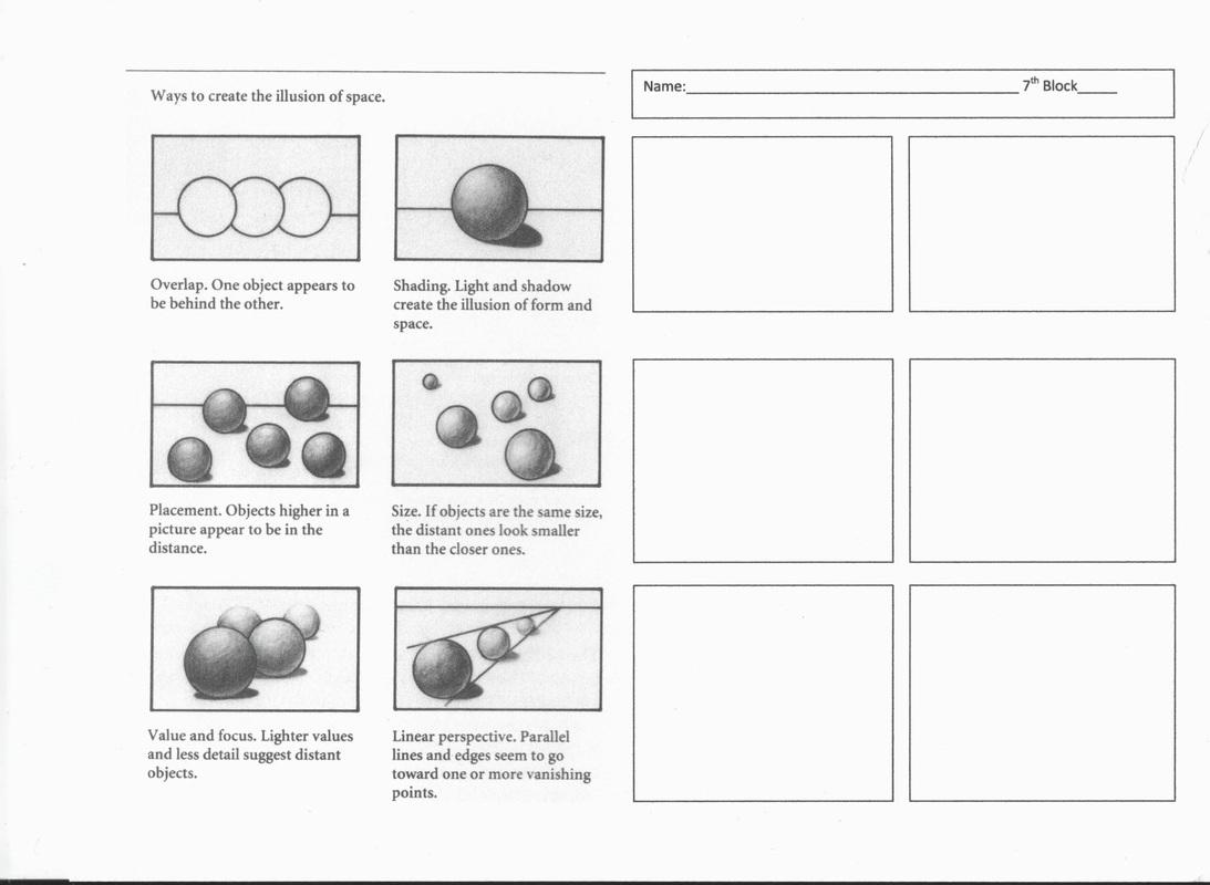Sphere Value Scale Worksheet