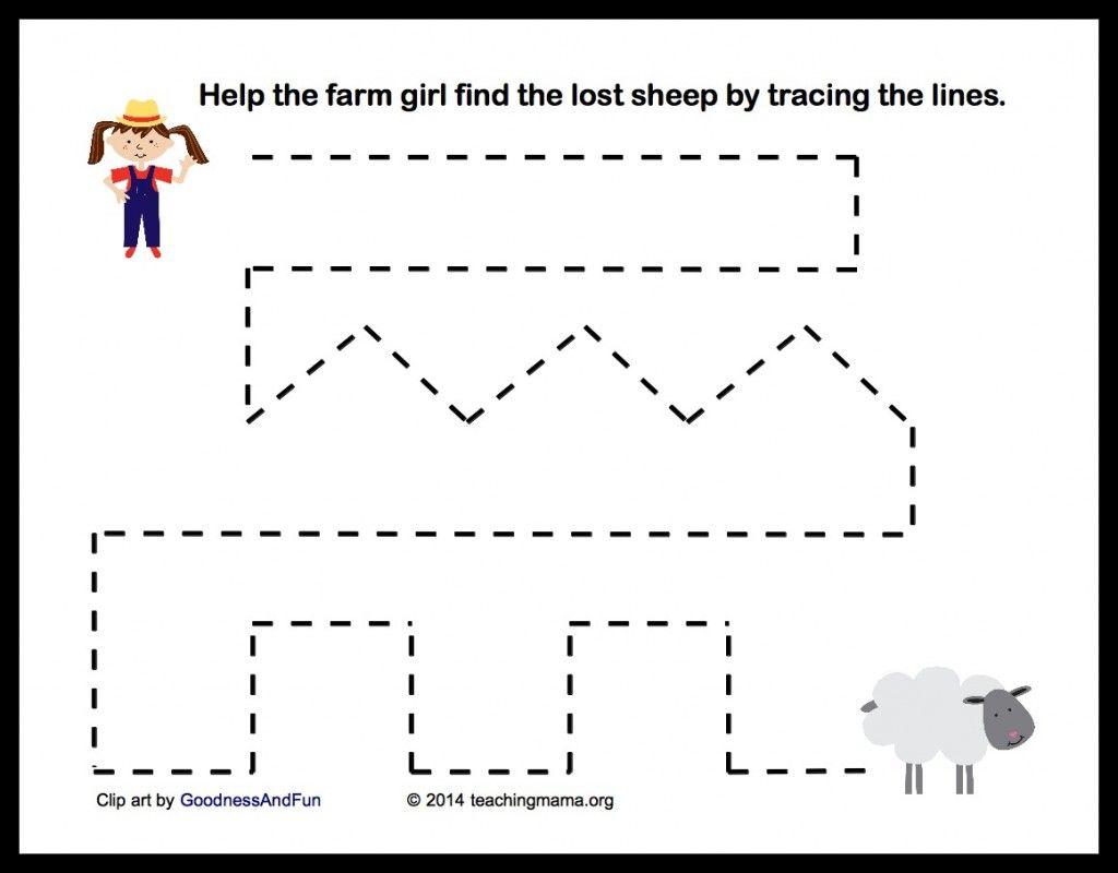 Farm Preschool Worksheets