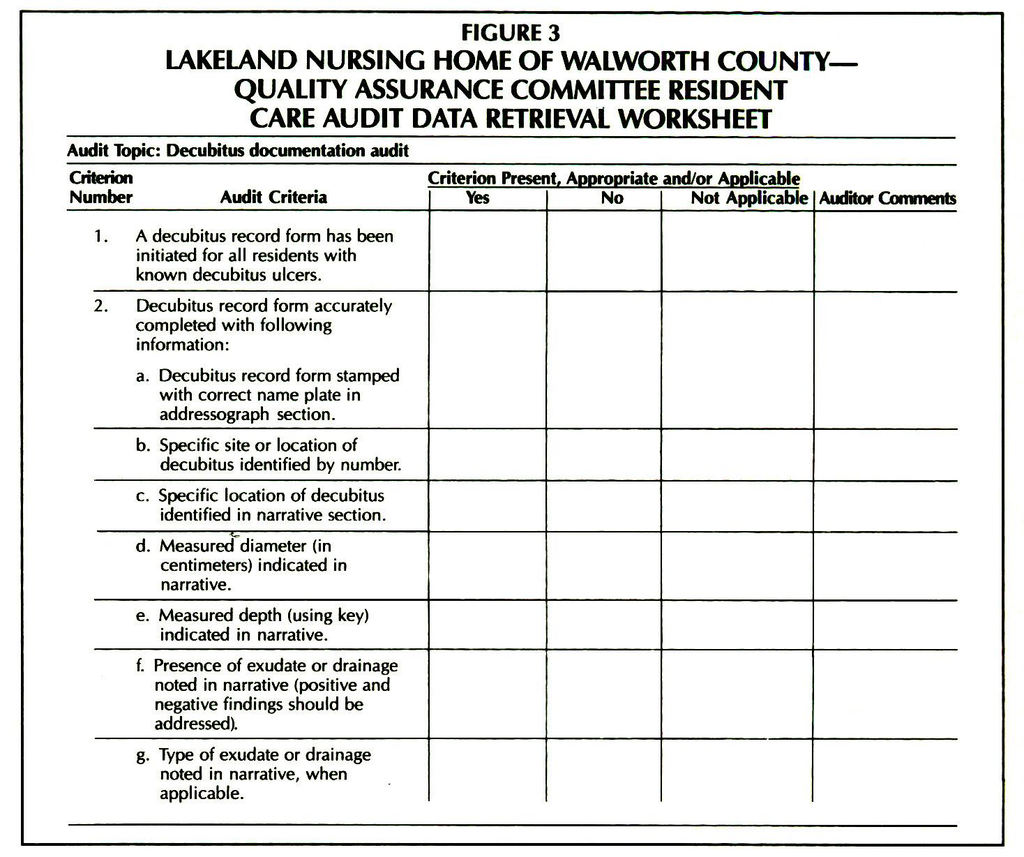 Nursing Patient Care Worksheets