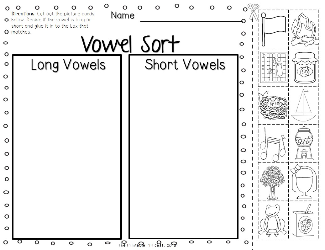 Long A Vowel Sound Worksheet E Ai Ay Teaching Short I