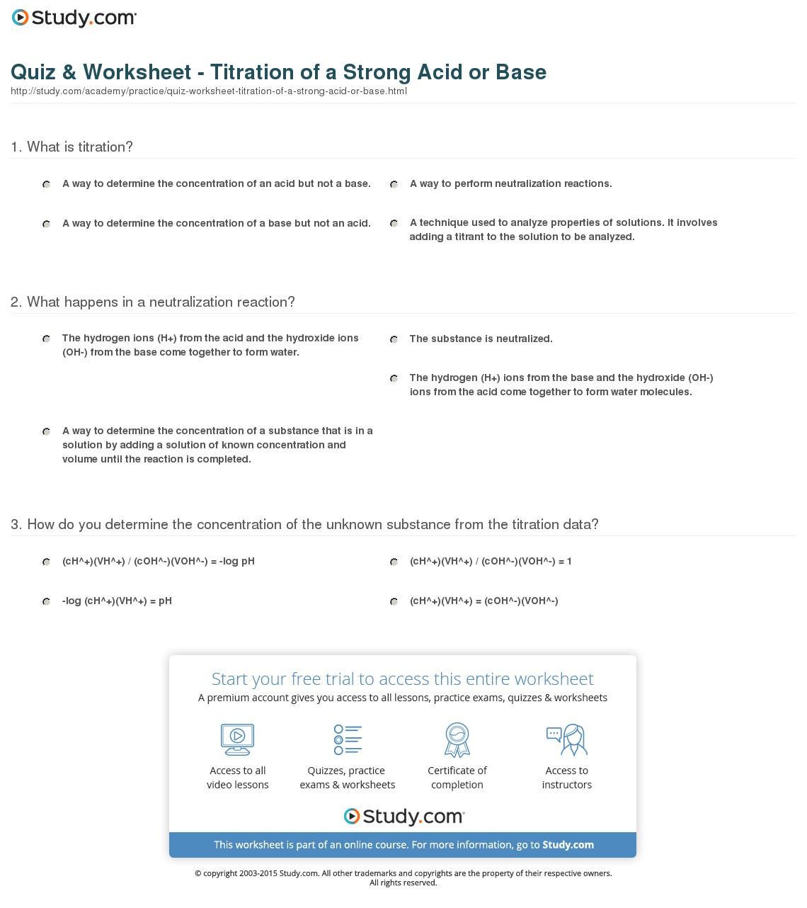 Quiz Amp Worksheet Worksheets Samples