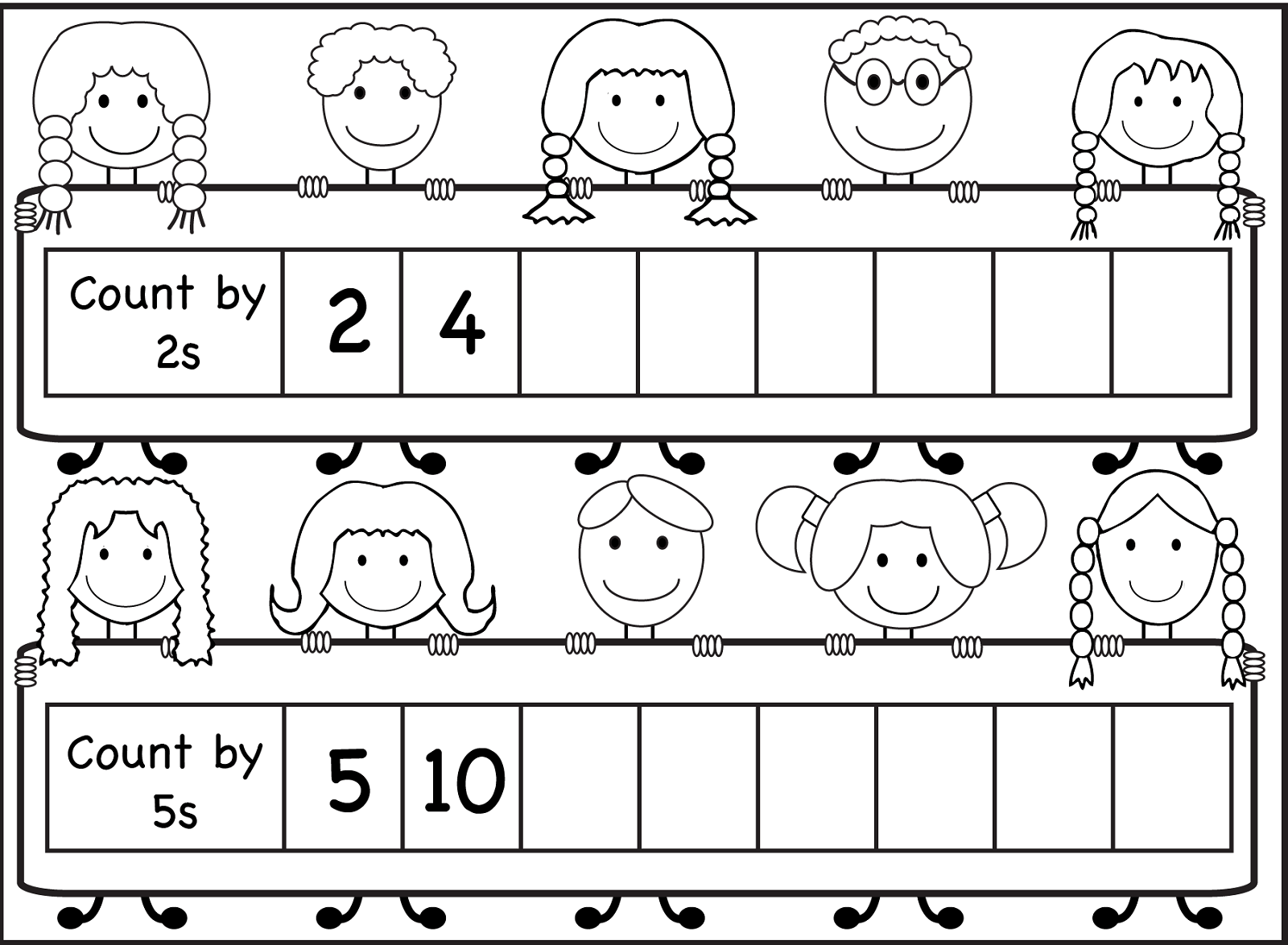 Counting Worksheets For Kids