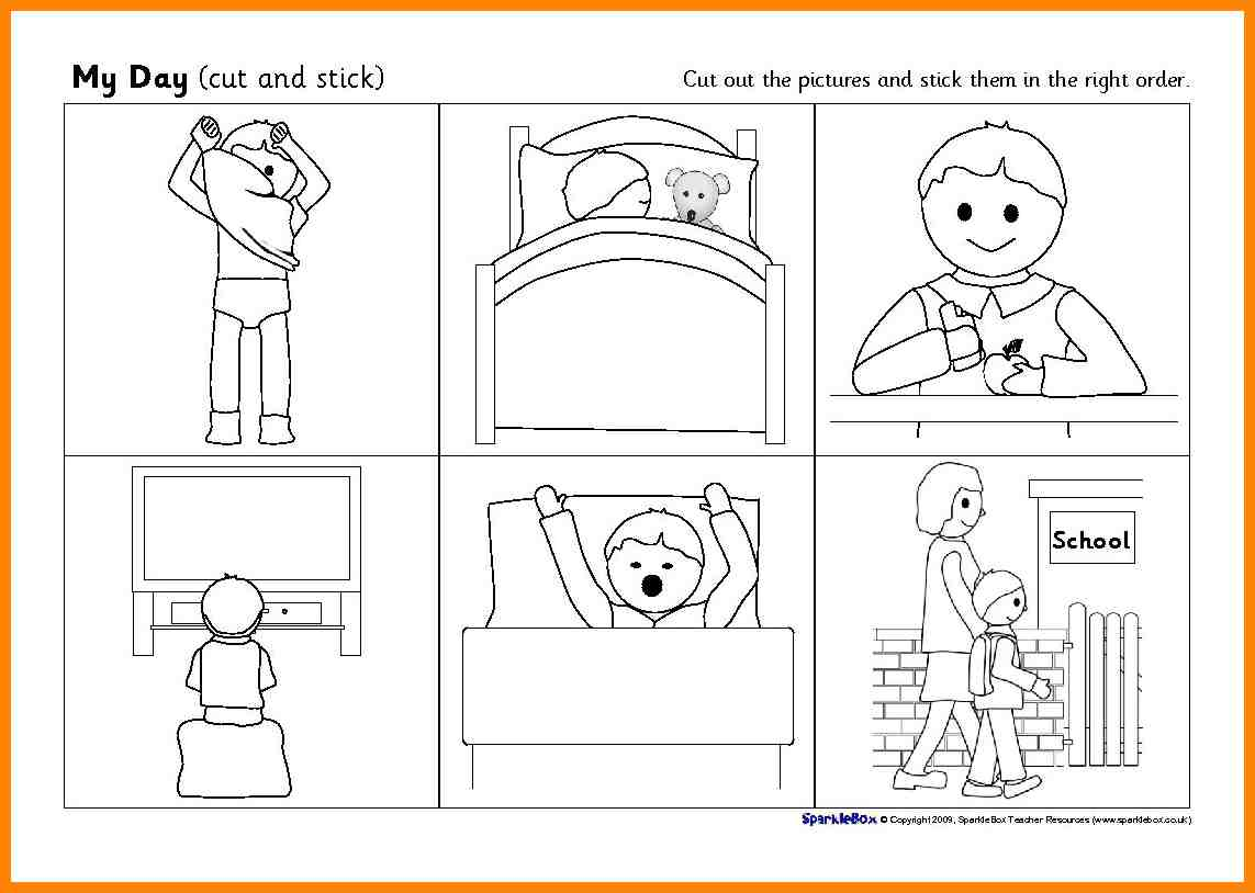 5 Sequence Of Events Worksheet Liquor Samples Kindergarten