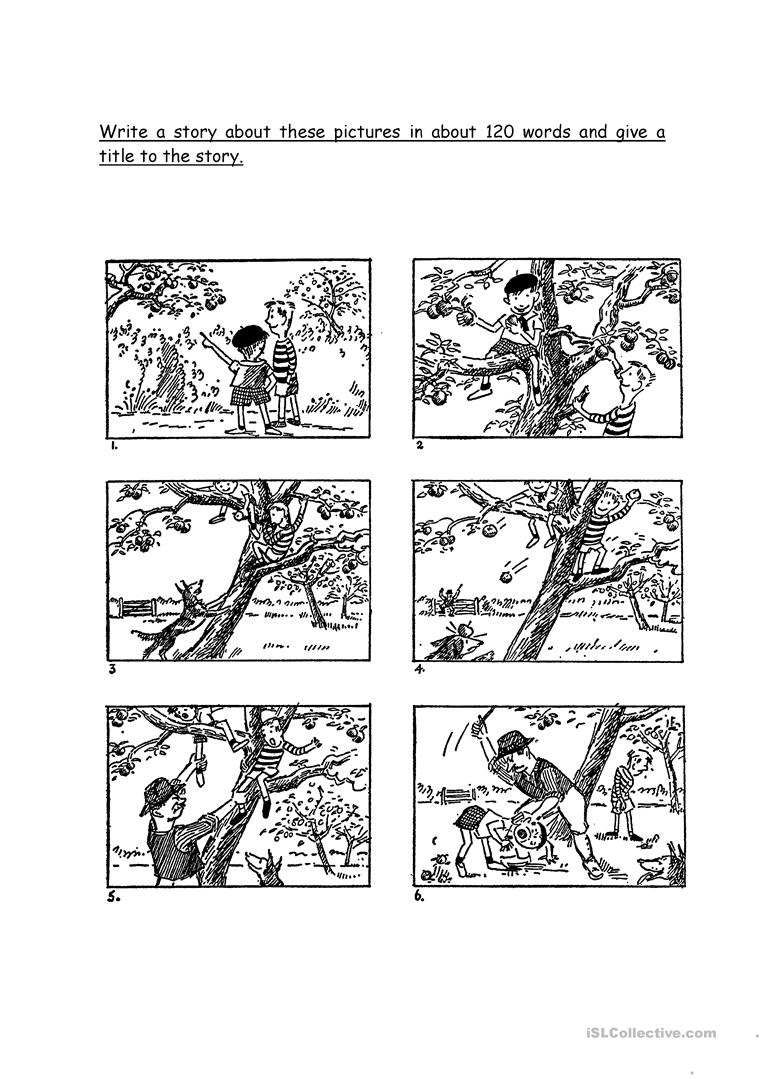 Free Picture Composition Worksheets