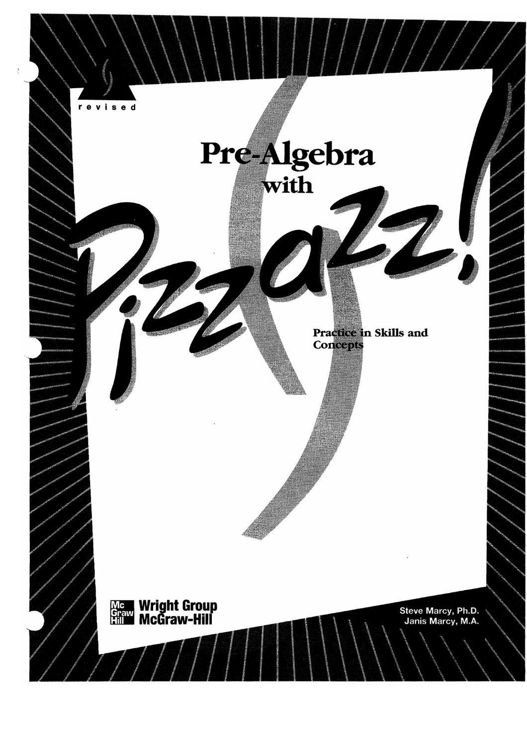 Algebra With Pizzazz Creative Publications Worksheets
